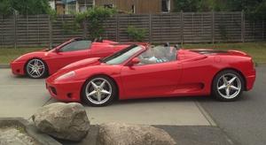 Red Devil Racing: 30, 60, 90 oder 120 Min. Ferrari-Fahrt inkl. Einweisung bei Red Devil Racing (bis zu 60% sparen*)