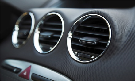 Aircon Service and Re-Gas for R350 at Savoy Car Aircon & Sound Centre