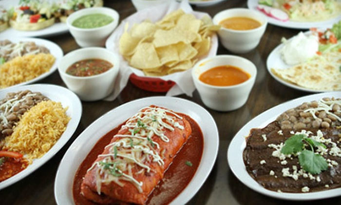 Tarascos Mexican Restaurant - Silver Lake: Mexican Meal for Two or Four or $7 for $15 Worth of Mexican Food at Tarascos Mexican Restaurant