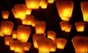 Up to 60% Off 10 or 20 Floating Sky Lanterns
