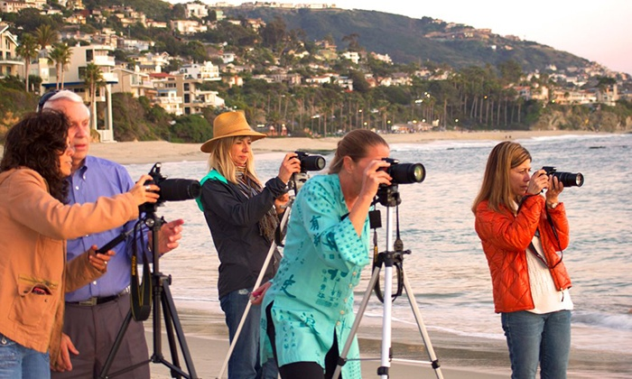 My Artist Loft - Laguna Beach: Four-Hour Weekend Digital-Photography Workshop for One or Two from My Artist Loft (Up to 57% Off)