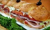 Killroys Sandwich Factory - Pasadena: Delivered Sandwiches and Entrees from Kilroy's Sandwich Factory (Up to 56% Off). Two Options Available.