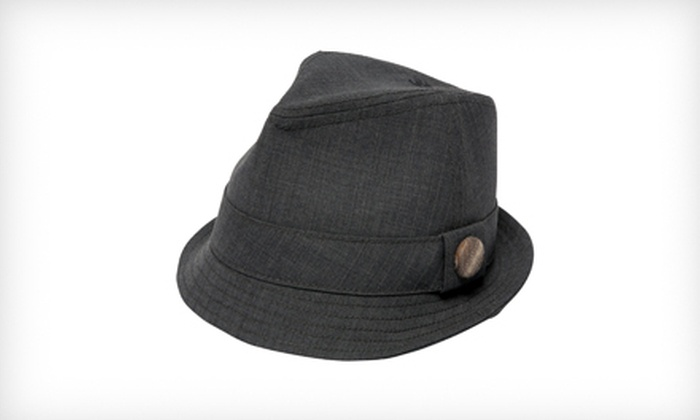Goorin Bros. Women's Takashi Fedora in Gray: $19 for a Women's Takashi Fedora in Gray ($58 List Price). Four Sizes Available.