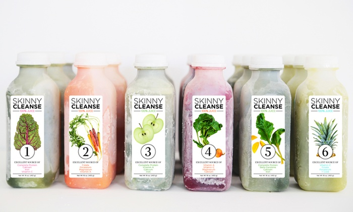 Raw Generation: Three-Day Skinny Juice Cleanse from Raw Generation (53% Off).