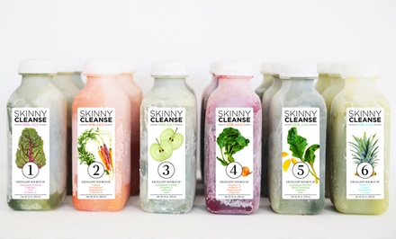 ThreeDay Skinny Juice Cleanse from Raw Generation (53% Off).