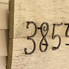 Hand-Forged House Numbers