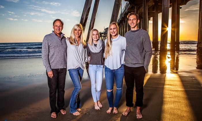 OC Family Photography - Orange County: 60-Minute Family Photo Shoot from OC Family Photography (71% Off)