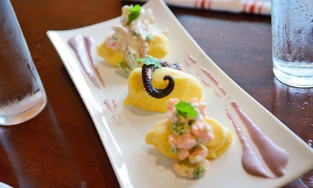 Prix Fixe Meal for Two or Four at Manka Peruvian Kitchen (42% Off)