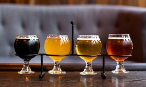Beermiscuous: Craft-Beer Tasting for Two or Four at Beermiscuous (Up to 55% Off)