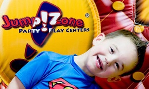 $18 For Pass Valid For Six Indoor Playground Visits At Jump!zone ($45 Value)