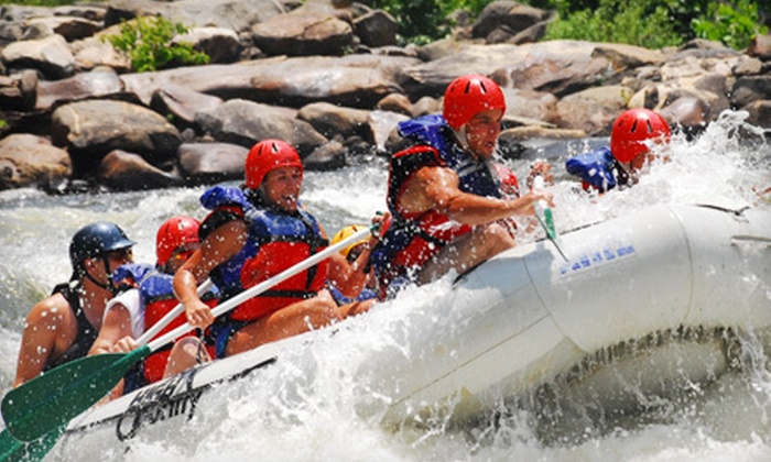 High Country Adventures - 2: Whitewater Rafting on Middle Ocoee River from High Country Adventures (Up to 63% Off). Four Options Available.