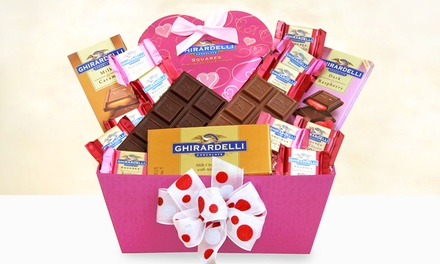 California Delicious Ghirardelli Sweet Inspirations Gift Box