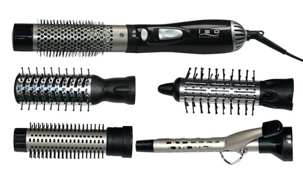 Proliss Air Styler 5-in-1 Hairstyling Tool with Brush, Straightener, and Dryer Attachments