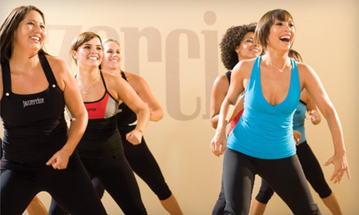 Jazzercise - Jazzercise: 10 or 20 Dance Fitness Classes at Jazzercise (Up to 80% Off). Valid at all U.S. and Canada Locations.