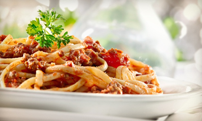 Mondello Italian Restaurant - Southeast Magnolia: Italian Cuisine for Dinner or Lunch, or Italian Meal for Four at Mondello Italian Restaurant (Up to 56% Off)
