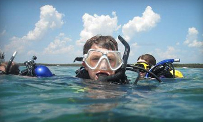 Pirates Cove Scuba - Oklahoma City: $159 for Open-Water Certification Referral Course with Gear and Educational Materials at Pirates Cove Scuba ($324 Value)