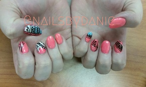 Nails by Danielle: Up to 64% Off Shellac with Manicures & Toes at Nails By Danielle