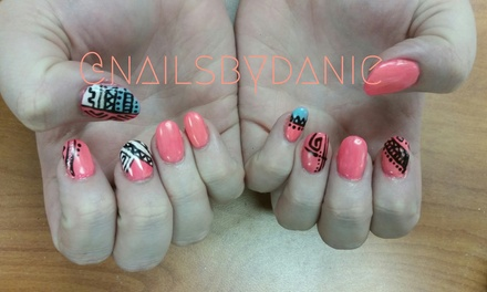 Up to 64% Off Shellac with Manicures & Toes at Nails By Danielle