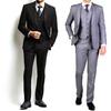 Carlo Lusso Men's Classic Fit Suits (3-Piece)