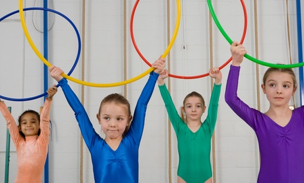 One Month of Kids' Gymnastics Classes or Two-Hour Drop-Off Classes at Julie's Gym (Up to 73% Off)