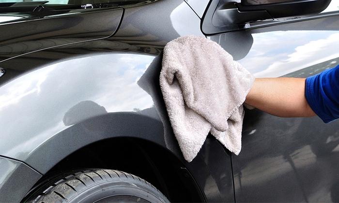 hand car wash services pro detail motorsports groupon. Black Bedroom Furniture Sets. Home Design Ideas