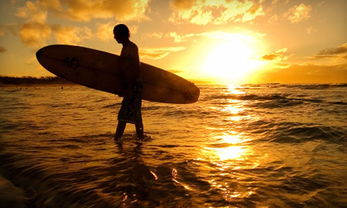 Hawaiian WaterSports - Multiple Locations: One- or Two-Day Surfboard Rental from Hawaiian WaterSports (Up to 52% Off)