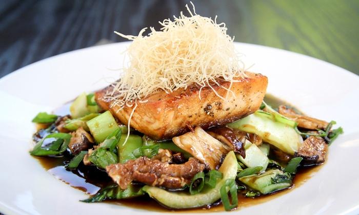 ASR Restaurant & Lounge - Roseville: Lunch or Dinner at ASR Restaurant & Lounge (Up to 40%Off)
