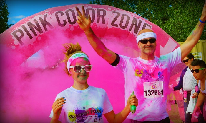 The Colorful 5K Graffiti Run - Sports Authority Stadium at Mile High: $25 for Entry to The Colorful 5K Graffiti Run on April 24 ($50Value)