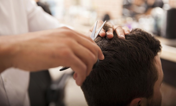 The Hair Parlour - Downtown Oceanside: A Men's Haircut with Shampoo and Style from The Hair Parlour (48% Off)