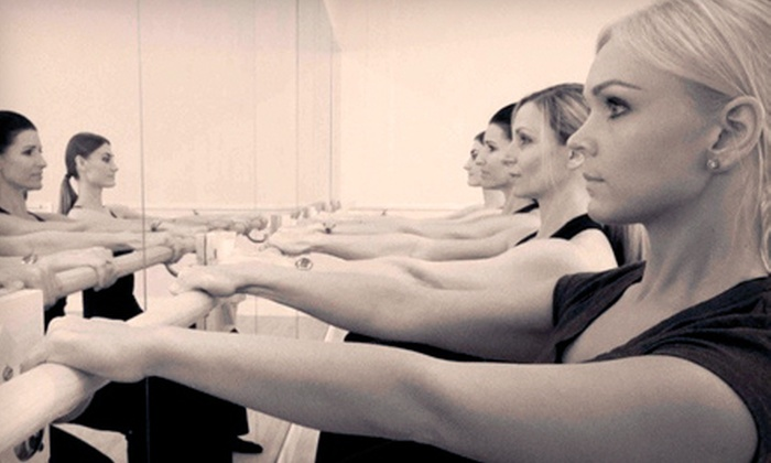 The Barre Studio - Delray Beach: One, Two, or Three Months of Unlimited Barre or Tabata TRX Classes at The Barre Studio (Up to 87% Off)