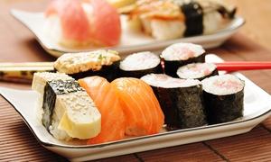 Art Sushi Stuttgart: Sushi-Menü zum Mitnehmen für 1 oder 2 Personen im Art Sushi Stuttgart (48% sparen*)