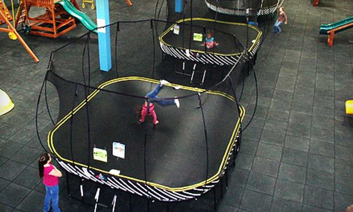 Recreations Outlet - Multiple Locations: Six Playground Visits or a Two-Hour Weekday Birthday Party for Up to 15 Kids at Recreations Outlet (Up to 54% Off)