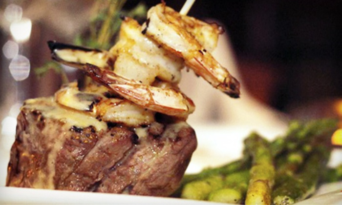 Dino's Steak and Claw House - Grapevine: $20 for $40 Worth of Steak and Seafood at Dino's Steak and Claw House