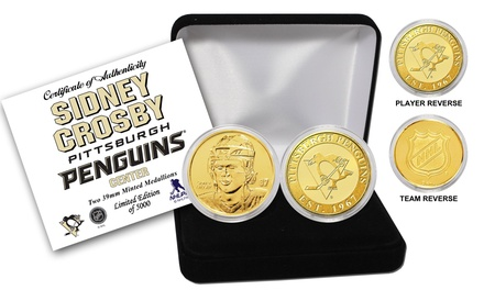 Sidney Crosby Bronze Coin Set from The Highland Mint