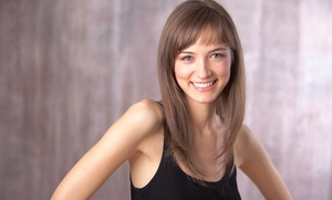 Salon 1100: Hair-Color Package or Haircut Package with Optional Color or Highlights at Salon 1100 (Up to 63% Off)