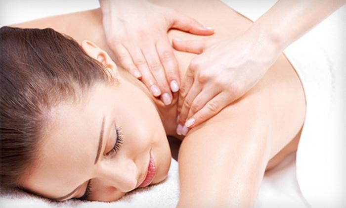 Seidou Salon Spa - Orono: $67 for Spa Package with 60-Minute Swedish Massage, Mani-Pedi, and Wine or Mimosa at Seidou Salon Spa ($135 Value)
