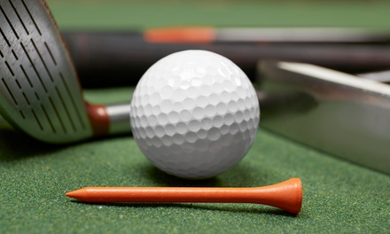 Indoor Golf for Two or Four from Back 9 Indoor Golf (50% Off)