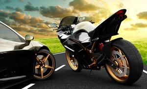 Carné de moto A o A2 con 1 o 5 prácticas desde 29,95 € o de coche B con 8 o 15 prácticas desde 49,95 € en 4 centros