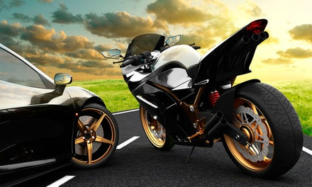 Carné de moto A o A2 con 5 prácticas desde 29,95 € o de coche B con 8 o 15 prácticas desde 29,95€ en 4 centros