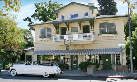 One-Night Stay for Two in a Queen or Twin Room, Valid SundayThursday through June 30 - Calistoga Inn Restaurant & Brewery in Calistoga