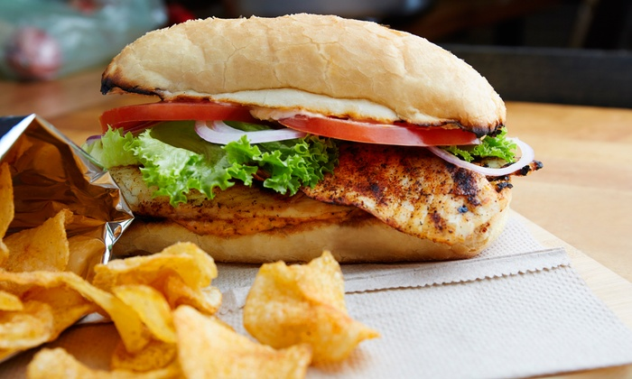 Ranch One - Woodland Park: Flame-Grilled Chicken Sandwiches, Salads, and Drinks at Ranch One (Up to 40% Off). Two Options Available.