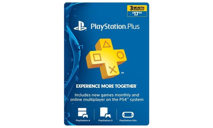 PlayStation Plus Membership   Groupon Goods