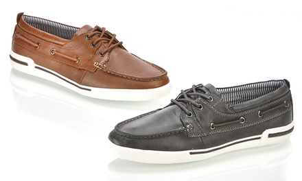 Kenneth Cole Unlisted Anchor Shot Men's Boat Shoes
