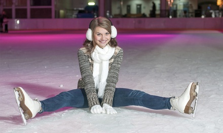 Ice Skating with Skate Rental and Hot Cocoa for Two or Four at Milford Ice Pavilion (Up to 50% Off)