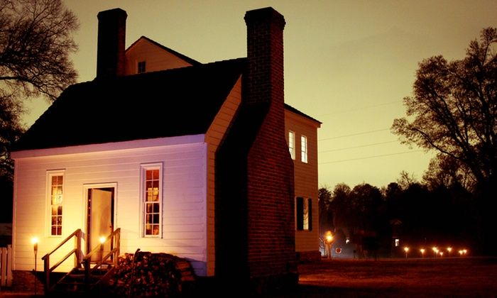 Historic Latta Plantation - Huntersville: Ghost Walk for Two, Four, or Six at Historic Latta Plantation (45% Off)