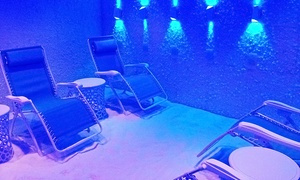 The Salt Scene: One, Three, or Five 45-Minute Salt-Therapy Sessions at The Salt Scene (Up to56% Off)