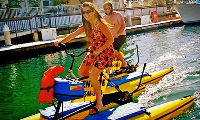 Long Beach Hydrobikes - Belmont Shore: $10 for a One-Hour Hydrobike Outing from Long Beach Hydrobikes ($20 Value)