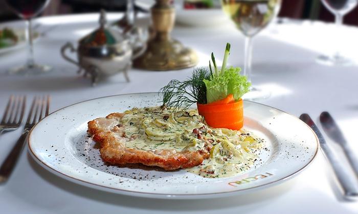 Restauracja Polska - Łódź (Łódź-Śródmieście): Dwudaniowy obiad z dodatkami za 69,99 zł dla 2 osób i więcej opcji w Restauracji Polskiej