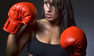Women Kickin' It: 10 Kickboxing Classes at Women Kickin' It (88% Off)