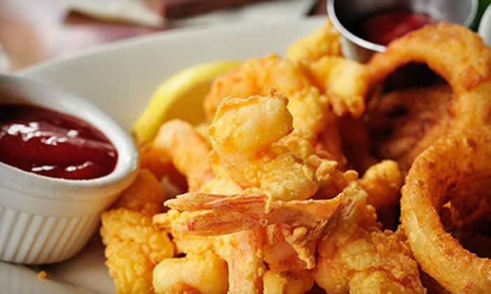 City Fish and More - Kansas City: Fried Fish and Sandwiches at City Fish and More (Half Off). Two Options Available.